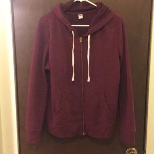 ❤️3 for 30❤️Old Navy burgundy hoodie